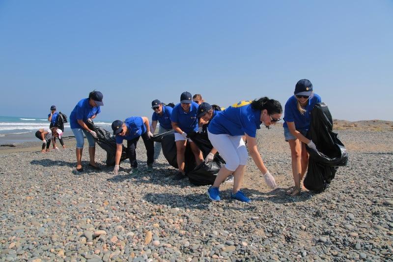 Kuzey Kıbrıs Turkcell'in sahil temizlik etkinliği yapıldı galerisi resim 19