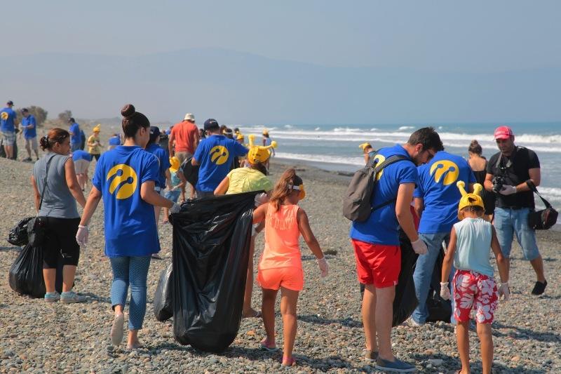 Kuzey Kıbrıs Turkcell'in sahil temizlik etkinliği yapıldı galerisi resim 20