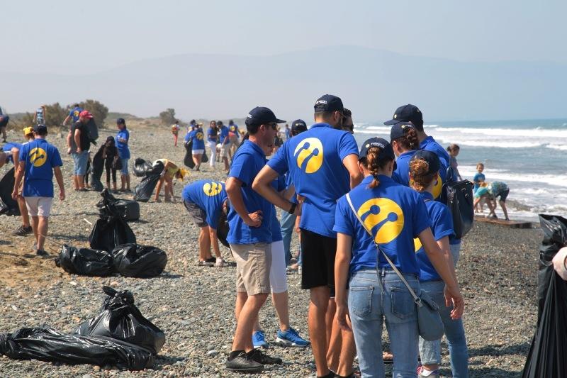 Kuzey Kıbrıs Turkcell'in sahil temizlik etkinliği yapıldı galerisi resim 21