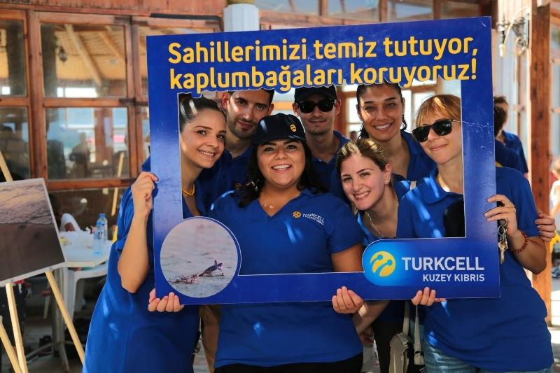 Kuzey Kıbrıs Turkcell'in sahil temizlik etkinliği yapıldı galerisi resim 25