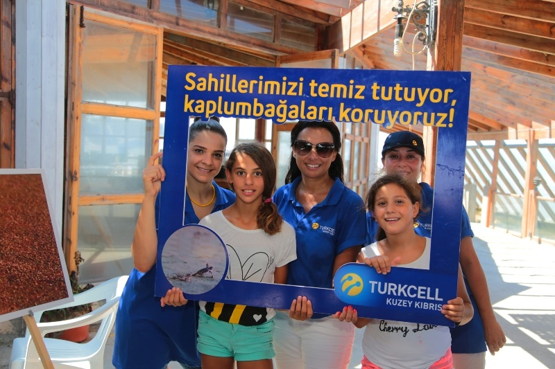 Kuzey Kıbrıs Turkcell'in sahil temizlik etkinliği yapıldı galerisi resim 26