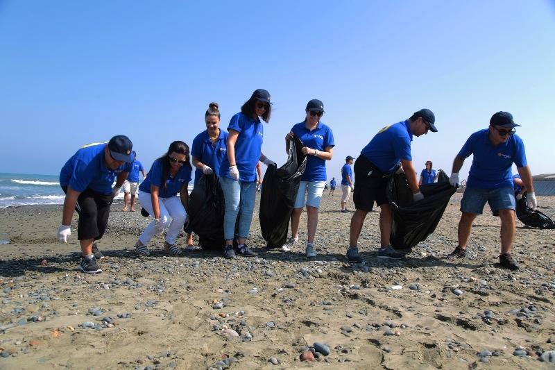 Kuzey Kıbrıs Turkcell'in sahil temizlik etkinliği yapıldı galerisi resim 3