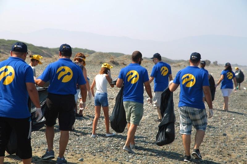 Kuzey Kıbrıs Turkcell'in sahil temizlik etkinliği yapıldı galerisi resim 7