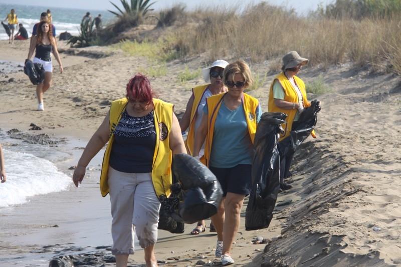 İskele' de, sahil temizlik çalışması yapıldı galerisi resim 10