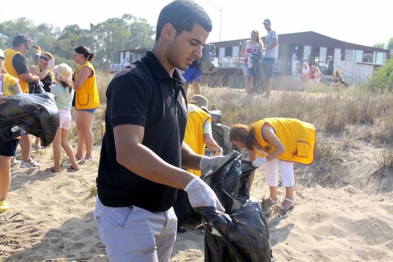 İskele' de, sahil temizlik çalışması yapıldı galerisi resim 4