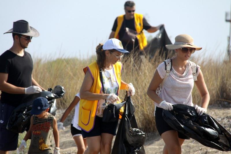 İskele' de, sahil temizlik çalışması yapıldı galerisi resim 6