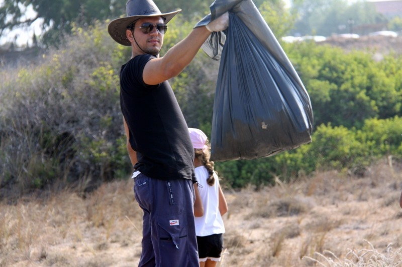 İskele' de, sahil temizlik çalışması yapıldı galerisi resim 9