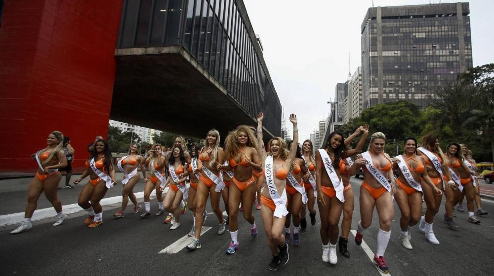 Brezilya'da en güzel kalçalı kadın yarışması galerisi resim 12