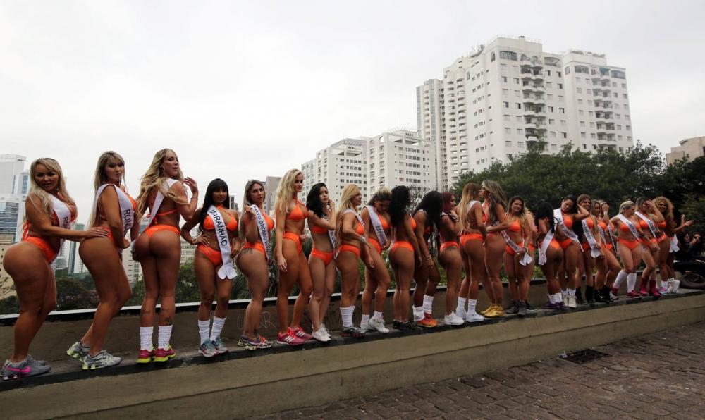 Brezilya'da en güzel kalçalı kadın yarışması galerisi resim 14