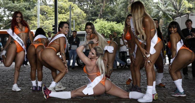 Brezilya'da en güzel kalçalı kadın yarışması galerisi resim 6