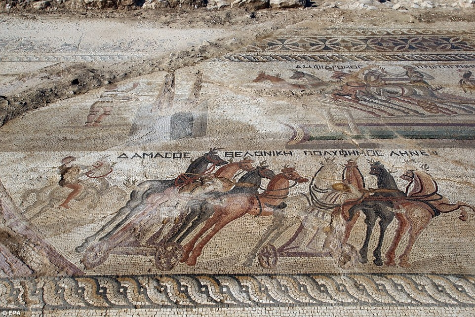 Kıbrıs'ta 1700 yıllık hipodrom bulundu! galerisi resim 1
