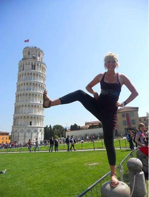 """Yolunuz düşerse diye """"Pisa Kulesi"""" pozları! galerisi resim 12"""