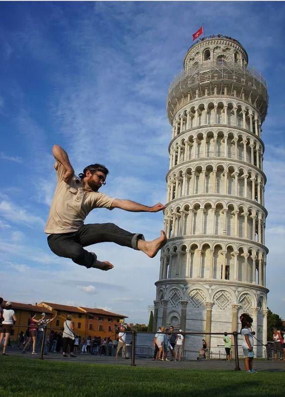 """Yaratıcı """"Pisa Kulesi"""" pozları! galerisi resim 14"""