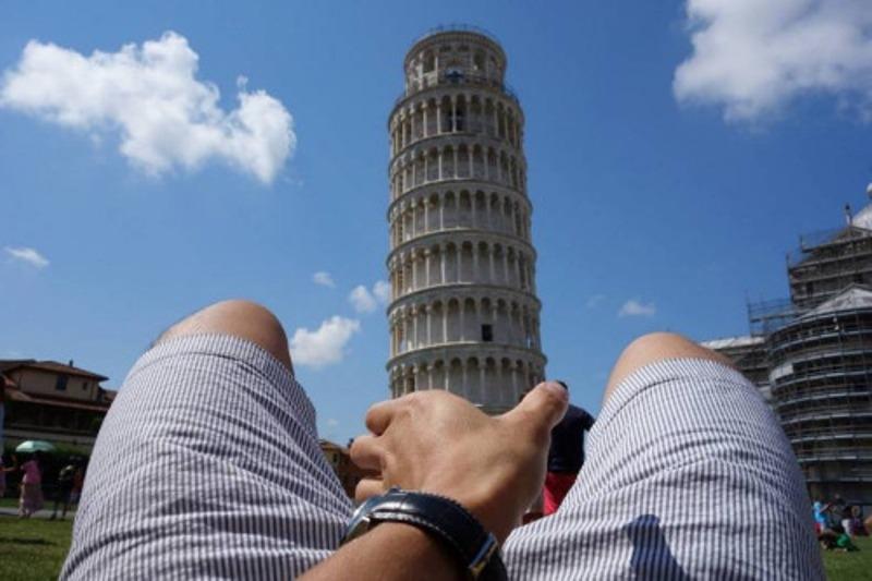 """Yaratıcı """"Pisa Kulesi"""" pozları! galerisi resim 15"""