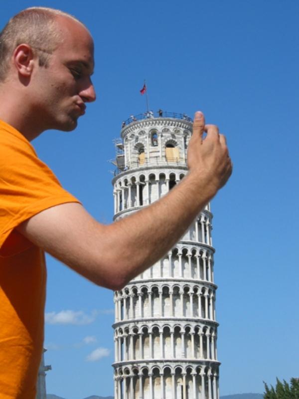"""Yaratıcı """"Pisa Kulesi"""" pozları! galerisi resim 17"""