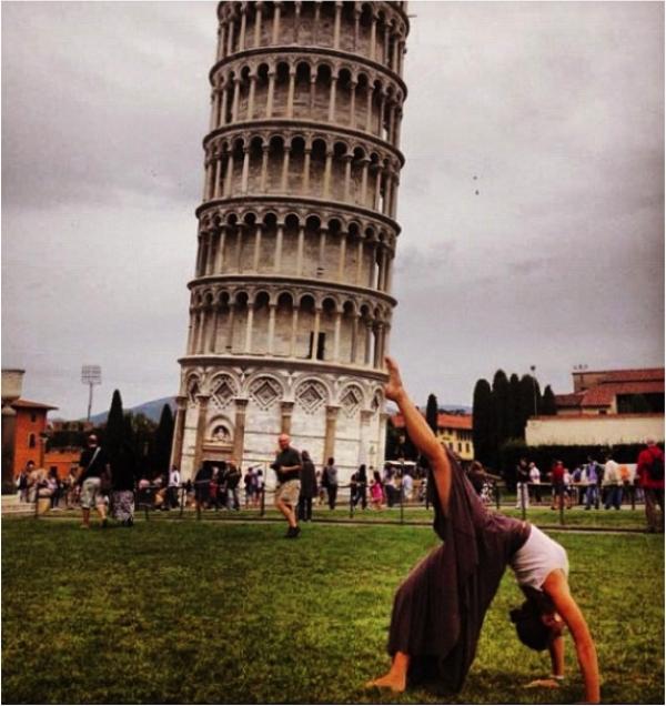 """Yaratıcı """"Pisa Kulesi"""" pozları! galerisi resim 18"""