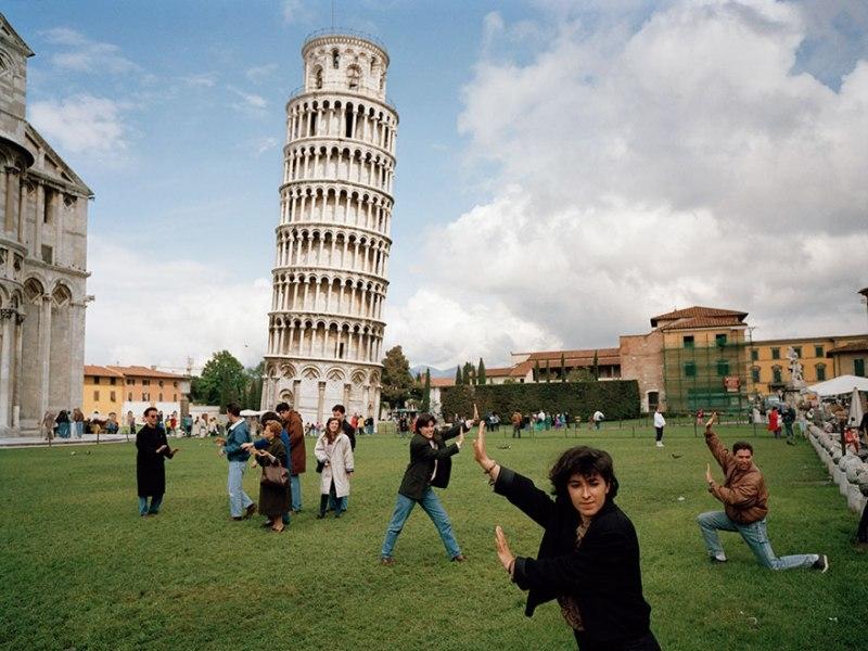 """Yaratıcı """"Pisa Kulesi"""" pozları! galerisi resim 2"""