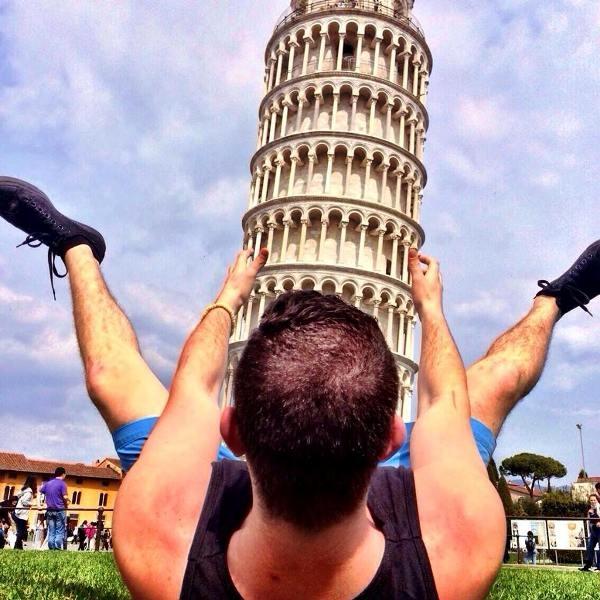"""Yolunuz düşerse diye """"Pisa Kulesi"""" pozları! galerisi resim 4"""