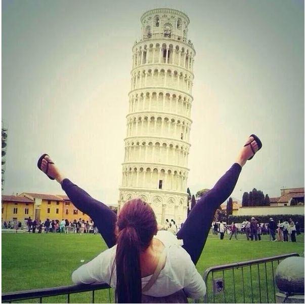 """Yaratıcı """"Pisa Kulesi"""" pozları! galerisi resim 6"""