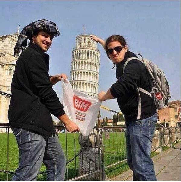 """Yolunuz düşerse diye """"Pisa Kulesi"""" pozları! galerisi resim 8"""