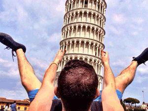 """Yolunuz düşerse diye """"Pisa Kulesi"""" pozları!"""