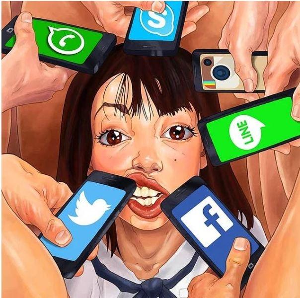 Modern hayatı eleştiren muhteşem illüstrasyonlar galerisi resim 5
