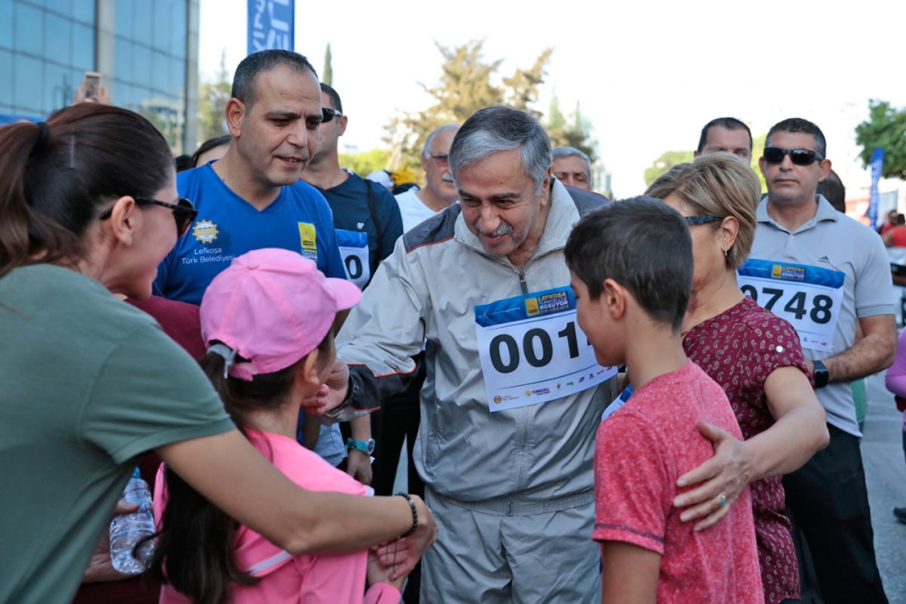 İşte Lefkoşa Maratonu'ndan eğlenceli görüntüler! galerisi resim 12