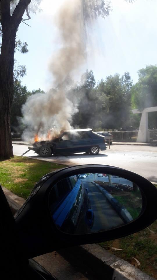 İki farklı araç, iki farklı yerde yandı! galerisi resim 2