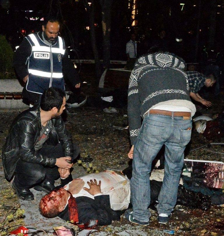 Ankara Patlama olay yeri fotoları (+18) galerisi resim 11