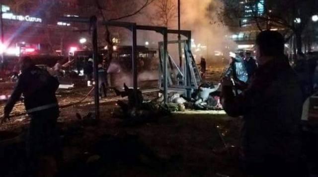 Ankara Patlama olay yeri fotoları (+18) galerisi resim 13