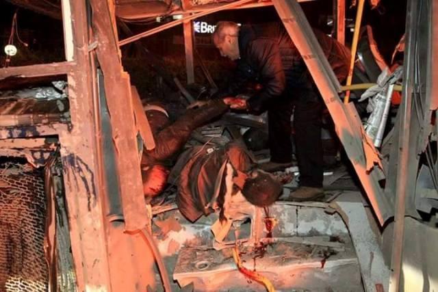 Ankara Patlama olay yeri fotoları (+18) galerisi resim 15