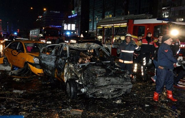 Ankara Patlama olay yeri fotoları (+18) galerisi resim 2