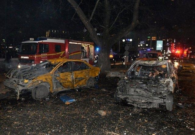 Ankara Patlama olay yeri fotoları (+18) galerisi resim 5
