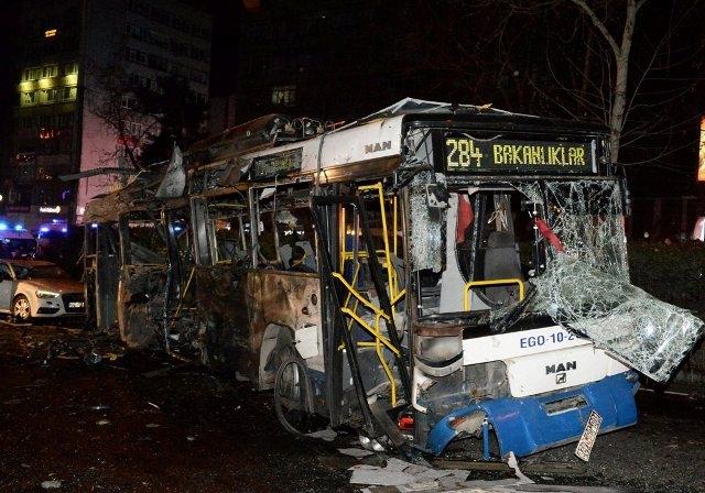 Ankara Patlama olay yeri fotoları (+18) galerisi resim 6