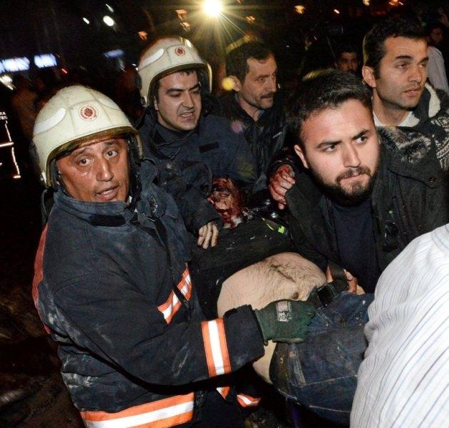 Ankara Patlama olay yeri fotoları (+18) galerisi resim 7