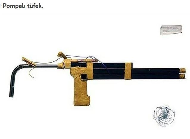 Akıl almaz hapishane üretimi silahlar galerisi resim 2