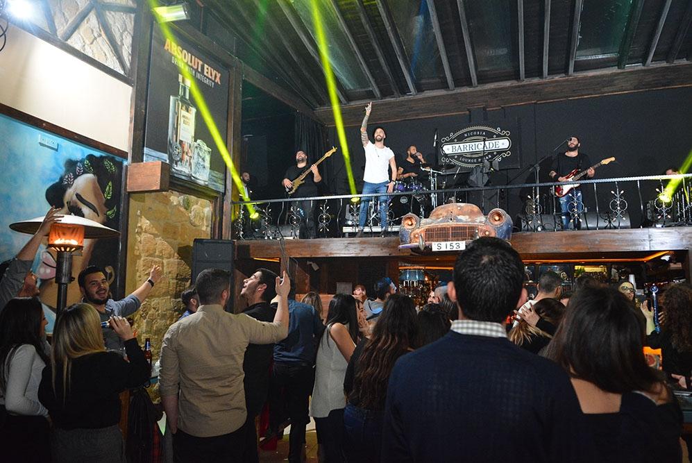 Lefkoşa'ya yeni soluk; Barricade Lounge & Bar galerisi resim 13