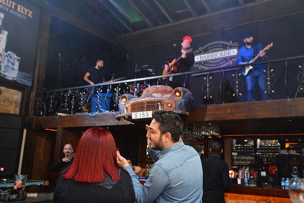 Lefkoşa'ya yeni soluk; Barricade Lounge & Bar galerisi resim 55