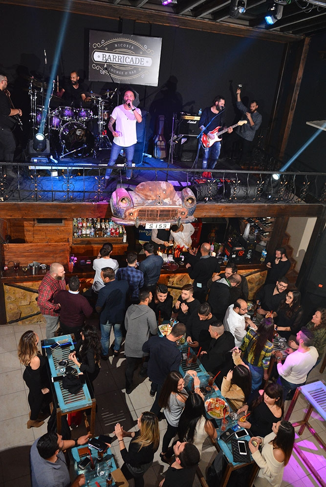 Lefkoşa'ya yeni soluk; Barricade Lounge & Bar galerisi resim 63