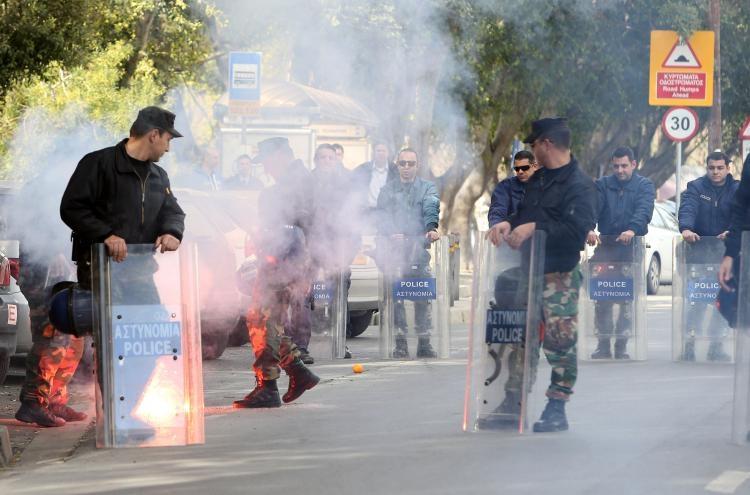 Fotoğraflarla güney Lefkoşa'daki öğrenci eylemi galerisi resim 2