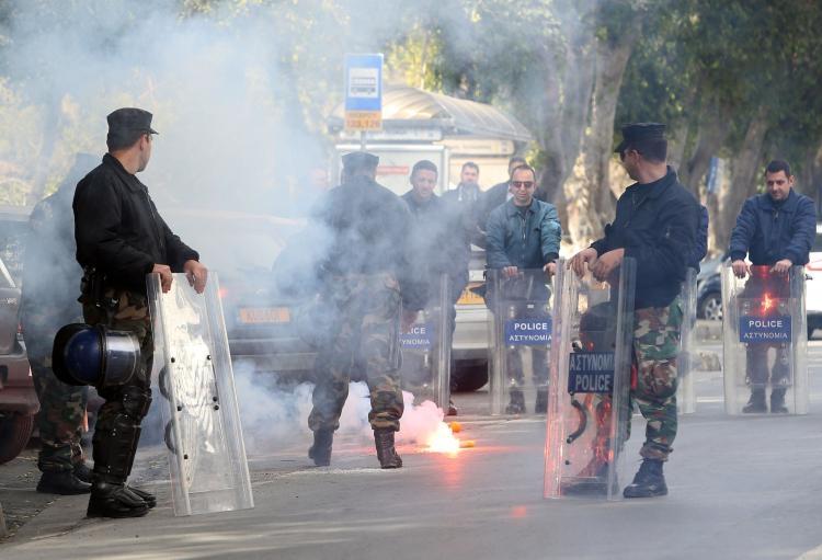 Fotoğraflarla güney Lefkoşa'daki öğrenci eylemi galerisi resim 3