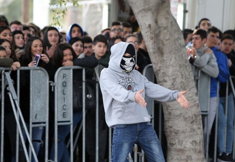 Fotoğraflarla güney Lefkoşa'daki öğrenci eylemi galerisi resim 7