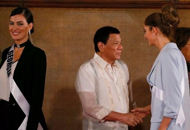 Kainat Güzeli adayları Filipinler sarayında! galerisi resim 7