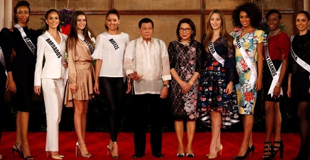 Kainat Güzeli adayları Filipinler sarayında! galerisi resim 8