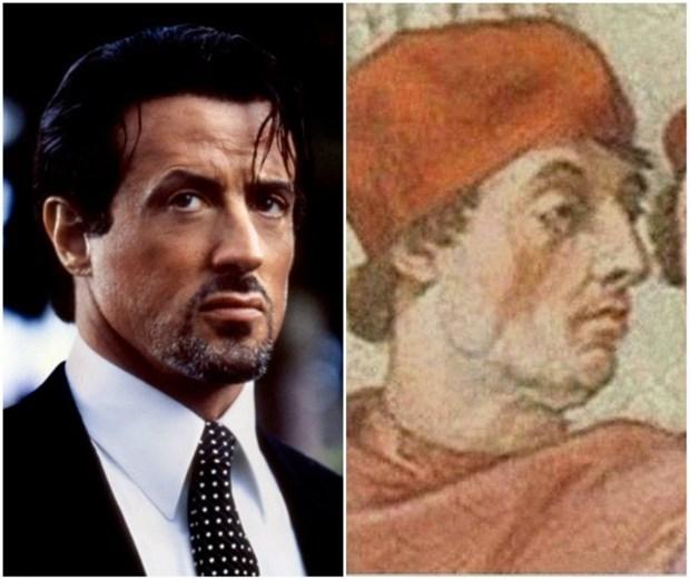 Aralarında yüzlerce yıl var fakat çok benziyorlar! galerisi resim 13