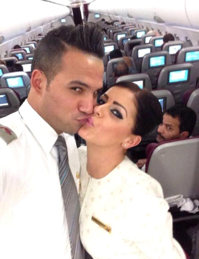 Qatar Airways'ın uçağında çekilen 3 fotoğraf skandal yarattı galerisi resim 4