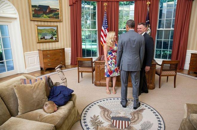 Oval Ofis'teki olağan dışı anlar galerisi resim 9