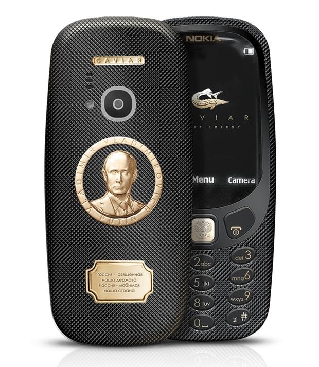 Putin'e özel Nokia 3310 galerisi resim 2