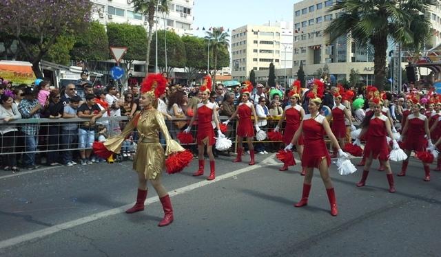 Limasol Karnavalı'ndan renkli görüntüler galerisi resim 1