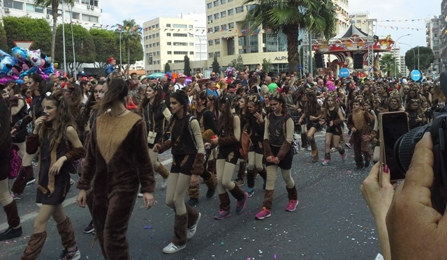 Limasol Karnavalı'ndan renkli görüntüler galerisi resim 2
